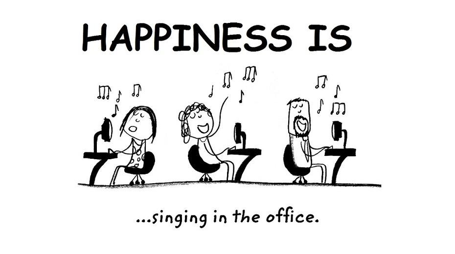 تصویر از شادی حقیقی در محیط کار به چه معنا میباشد؟