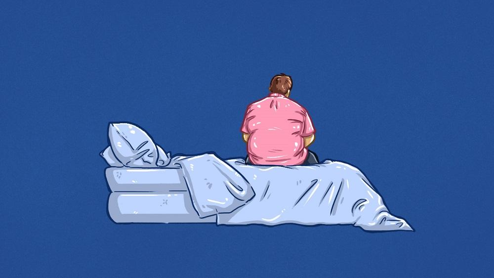 ارتباط پرخوری و بی خوابی