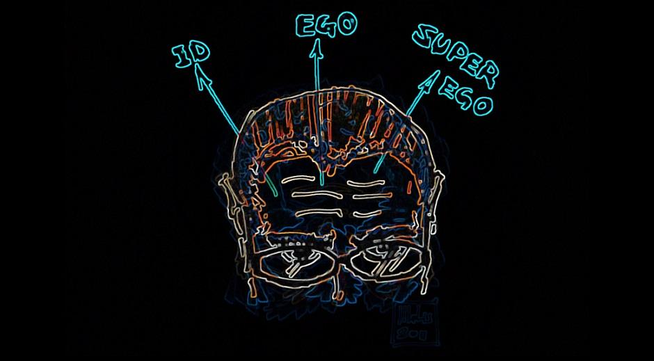 تصویر از نهاد (Id)، خود (Ego) و فراخود (Superego)
