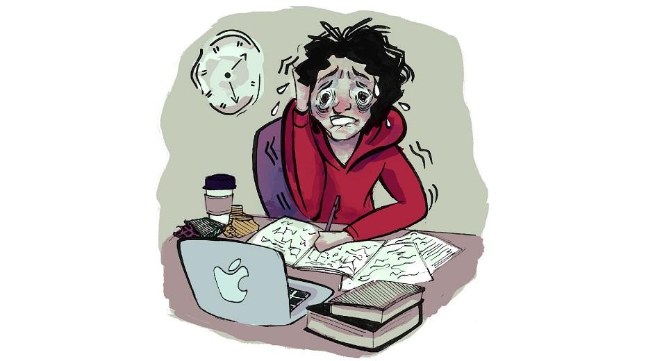تصویر از استرس، بیماری و دستگاه ایمنی بدن