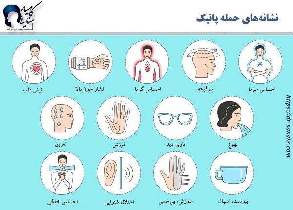 حمله پانیک- سایت روانشناسی دکتر کامیار سنایی
