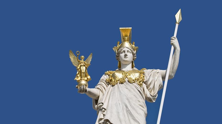 تصویر از الهه آتنا در کهن الگوی یونگ
