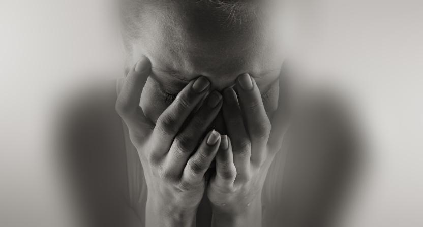 تصویر از گریه بعد از رابطه جنسی