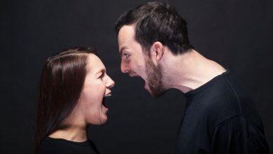تصویر از دعوای زن و شوهر