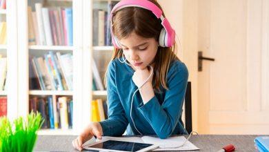تصویر از آموزش آنلاین کودکان