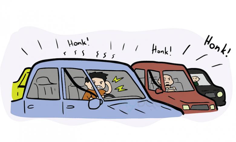استرس ترافیک- دکتر کامیار سنایی