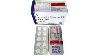 تصویر از آموکساپین AMOXAPINE