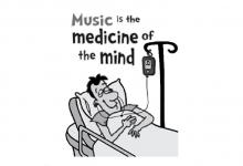 تصویر از تاثیر موسیقی بر کاهش استرس و سلامت روح و روان
